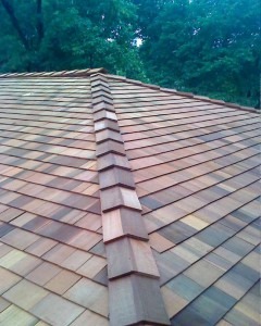Cedar Wood Shingle Roof Janesville, WI image